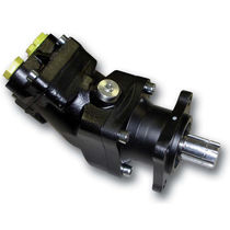 Hydraulic piston pump / bent-axis / fixed-displacement / compact