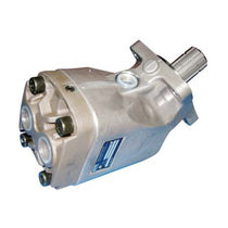 Spherical piston hydraulic motor / bent-axis
