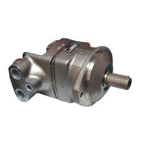 Piston hydraulic motor / bent-axis
