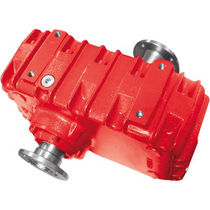 Parallel-shaft gear reducer-multiplier / high-power / reversible
