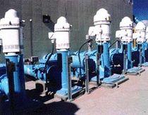 Asynchronous motor / vertical