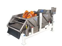 Rotary separator / particle / for the food industry / rectangular