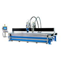 Abrasive water-jet cutting machine / metal / plastic / wood