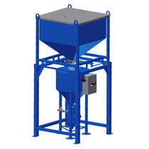 Abrasive feeding system for water-jet cutting machines / automatic