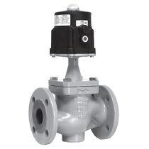 Globe valve / shut-off / pneumatic piston