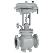 Globe valve / pneumatically-operated / for steam