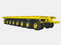 More than 6 axles trailer / for industrial materials / flatbed