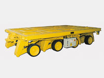4-axle trailer / for industrial materials / flatbed
