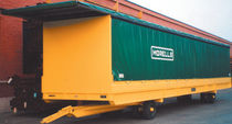 2-axle trailer / for industrial materials / van