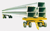 Electric self-propelled trailer / for prefabrication sites