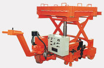 Scissor lift table / hydraulic / mobile / for die handling
