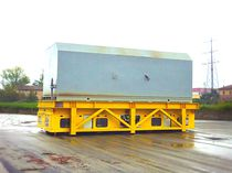 Transport cart / handling / metal / for heavy loads