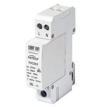 Type 2 surge protector / AC / 2-pole / DIN rail