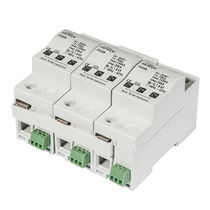 Type 1 surge arrester / DC / DIN rail / remote signaling