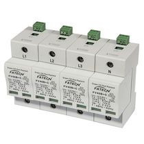 Type 1 surge protector / hybrid / AC / three-phase