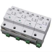 Type 1 surge arrester / AC / compact / three-phase