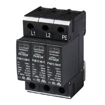 Type 1 surge protector / type 2 / AC / multipole