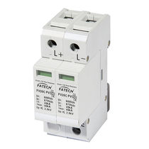 Type 2 surge protector / DC / 2-pole / DIN rail