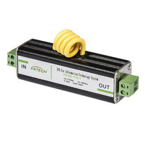 Type 3 surge protector / AC / with housing / for telecom applications