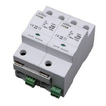 Type 1 surge arrester / single-phase / AC / DIN rail
