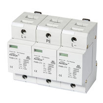 Type 1 surge arrester / type 2 / with fault indication / DC