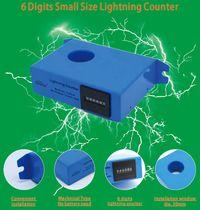 Lightning surge counter / lightning strike / digital / electronic