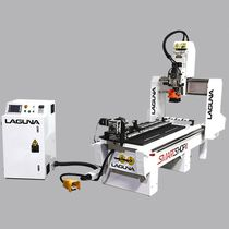 CNC router / 4-axis / with automatic tool changer