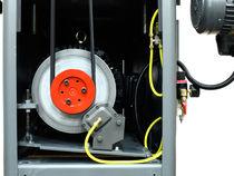 Wide-belt sander / for wood / oscillating