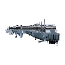 Steam turbine / combined-cycle / single-shaft / single-casing double-flow