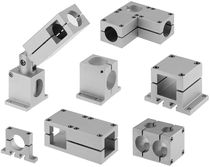 Square tube connector / cross / elbow / T