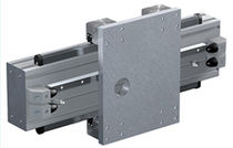 Rack-and-pinion linear axis / heavy-duty