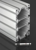 Aluminum profile / flat / with frame / rectangular