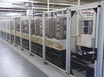 Aluminum profile machine frame and housing