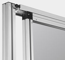 Sliding door / aluminum / industrial / indoor