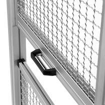 Vertical sliding doors / lift-and-slide / aluminum / industrial