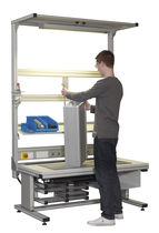 Assembly workstation / order-picking / for laboratories / for medical applications