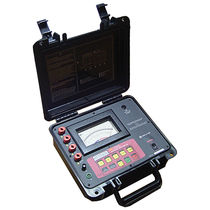 Digital (resistance measurement) / portable / high-voltage