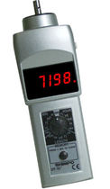 Contact tachometer / hand / with LED display / 5-digit