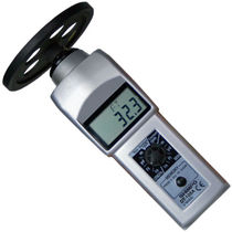 Contact tachometer / hand / digital / with LCD display