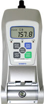 Portable force gauge / with data logger / high-capacity