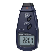 Laser tachometer / hand / with LCD display / 5-digit