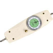 Mechanical force gauge / dual-scale