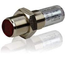 Reflex type photoelectric sensor / cylindrical