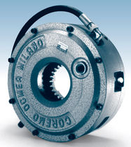 Multiple-disc clutch and brake / pneumatic / water-cooled