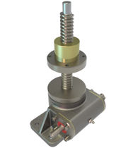 Worm screw jack / rotating screw / stainless steel