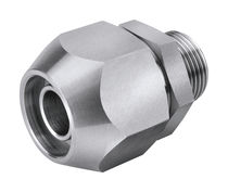 Threaded fitting / straight / for compressed air