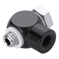 Screw-in fitting / banjo / T / for compressed air