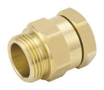 Bulkhead fitting / screw-in / straight / pneumatic