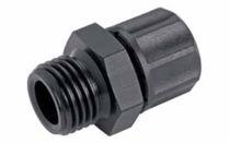 Screw-in fitting / straight / pneumatic