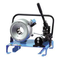 Cable crimping machine / manual / lever-operated